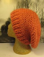 PRINTED INSTRUCTIONS -SUPERFAST GARTER ST SUPER SLOUCH HAT  KNITTING PATTERN