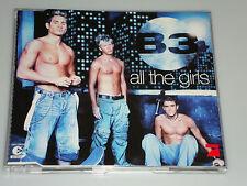 B3 ALL THE GIRLS MAXI CD NEU 6 TITEL