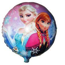 Disney Frozen Anna Elsa Birthday Party Foil Helium Balloon Round 45cm