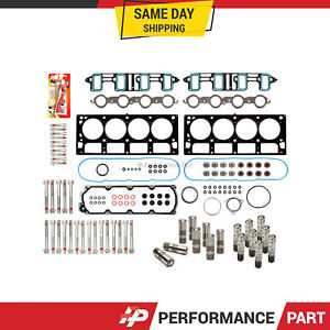 Head Gasket Set Bolts Lifters for 07-11 GMC Chevrolet 6.0 Cadillac 6.2 OHV AFM