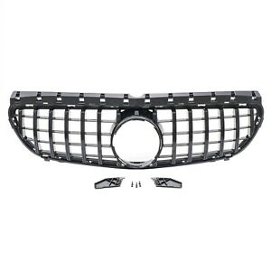 ✅ Grille Panamericana Gt AMG Look Black for Mercedes B Class W246 New