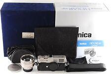 [NearMint++] Konica Hexar RF Limited Camera Kit w/M-Hexanon 50mm F/1.2  (R605)