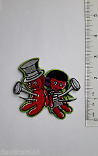 VOO DOO DOLLS Embroidered IRON-ON SEW-ON PATCH Applique HOTROD  By ROB KRUSE