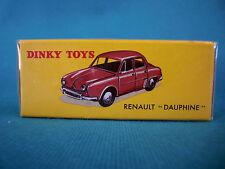 "DINKY TOYS RENAULT "" DAUPHINE "" ÉDITION ATLAS 24E"