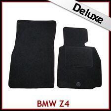 BMW Z4 E85 E86 2002-2008 1300g DI LUSSO SU MISURA TAPPETINI AUTO MOQUETTE NERA
