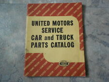 1949 UNITED MOTORS SERVICE Car and Truck Parts Catalog A-900 GM FORD CHRYSLER