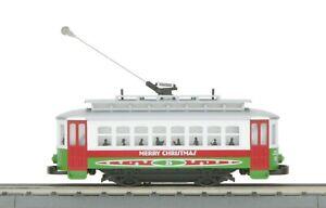 O-Gauge - MTH - Christmas Bump-n-Go Trolley