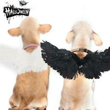 Pet Halloween Cosplay Wings Funny Costume Party Dogs Cat Black Bat Wings Props
