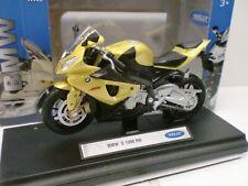 WELLY 1/18 - MOTO BMW S 1000 RR
