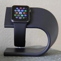 Apple Watch Stand & Charging Station - Space Gray - Aluminum Metal Modern NEW