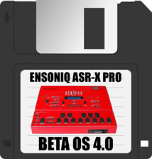 Beta OS 4.0 for the Ensoniq ASR-X Pro on a new Floppy Disk (Red ASRX only) 3.20