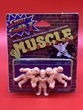 Street Fighter II M.U.S.C.L.E.  Ken, Dhalsim, & Balrog 3Pack Mini Figures  (New)