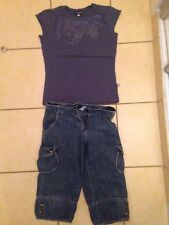 ensemble jean bourget 2 Pieces 12 Ans TBE