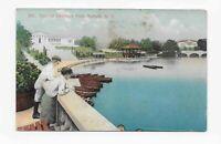 Vintage Postcard ** LAKE AT DELAWARE PARK ** BUFFALO * NY * 1909