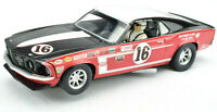 "Scalextric ""Mustang Club"" 1969 Ford Mustang Boss 302 #16 DPR 1/32 Scale Slot Car"
