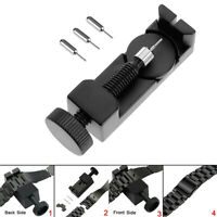 Length Adjuster Watch Band Strap Bracelet Long Link Pins Remover Repair Tool Fm