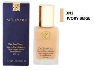 Estee Lauder Double Wear Stay in Place Makeup Foundation - 3N1 Ivory Beige 30ml