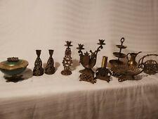 More details for vintage jerusalem brass, jewish ornaments