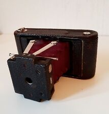 Antiguo temprano década de 1900 Kodak Cámara plegable de bolsillo Nº 80168