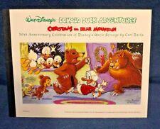 1998 Disney - Christmas On Bear Mountain Stamp Comic Booklet Guyana - Carl Barks