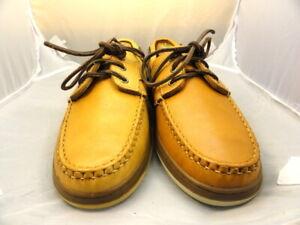 "New Allen Edmonds Men's Shoes ""Eastport"" Boat Shoes Brown 9.5 D (179)"