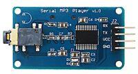 YX5300 Serial UART MP3/WAV Micro SD Music Player Module Arduino PIC STM32 DAC