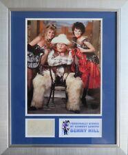 Benny Hill Signed Photo Display Framed AFTAL RD#175 Comedy Legend