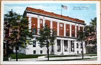 1920 Terre Haute, Indiana Postcard: Masonic Temple - IN