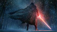Star Wars Adam Driver Kylo Ren Lightsaber Silk Poster Wallpaper 24 X 13 inch