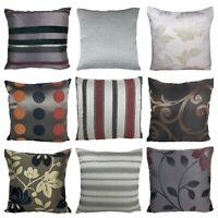 """X4 18X18"""" Home Sofa Cotton Decor Plaid Throw Pillow Case Square Cushion Cover"""