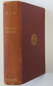 Kim Twice Signed by Kipling - Freemasonry Connection SIGNED - WAS £2200 NOW £150