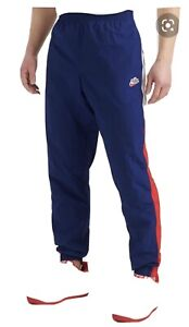 NSW Nike Woven Pants, Blue/Red/White, NEW Sz L, CJ5484-492, from Eastbay