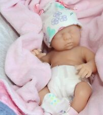 IT's A Baby GIRL! FULL SILICONE Bathable Life Like Reborn Pacifier Doll + Extras