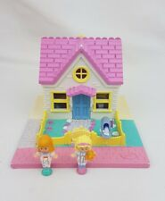 Vintage Polly Pocket Cozy Cottage 100% Complete 1993 Bluebird toy