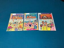 Archie Comics Everything's Archie Lot Of 3 #36-77