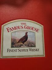 The Famous Grouse Scotch Whisky Brand Design Artwork (VERY RARE!!)