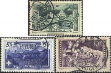 Schweiz 121-123 (kompl.Ausg.) gestempelt 1914 Landschaftsbilder