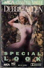 "DEBBIE ALLEN ""SPECIAL LOOK"" CASSETTE SINGLE 1989 mca sealed"
