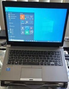 """Toshiba PORTEGE Z30-B 13.3"""" Laptop 2.0 GHz i5-4310U 12GB RAM 256SSD HD WIN10 Pro"""