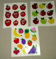 Veggie Baskets Vintage Meyercord Decals Fruit You Pick Ewer Berries Apples