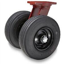 Hamilton Pneumatic Dual Wheel S 7210 Pr 12 Swivel Caster 1 Roller Bearing