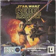 Star Wars-Rebel Assault II 2 The hidden empire: PC CD avec free/Rapide Post