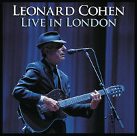 Leonard Cohen Live In London 180gm Vinyl 3 LP +Download NEW sealed
