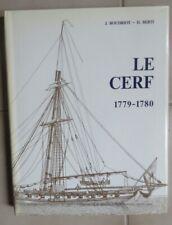 cotre Le Cerf 1779-1780 par J Boudriot et H Berti avec 11 planches au 1/48e