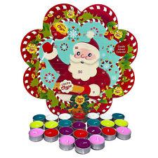 Chupa Chups Tealight Candle Advent Calendar Christmas Countdown Candles Holder