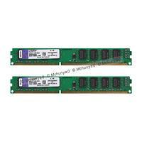 For Kingston 8GB (2x 4GB) DDR3-1333MHz PC Desktop Memory PC3-10600 DIMM RAM 1.5V