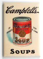 Tomato Soup Sign FRIDGE MAGNET can label advertisement