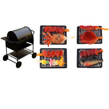 Miniature Barbecues BBQ & Grill Oven for 1/12 Dollhouse Accessory Decoration