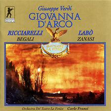 VERDI: Giovanna d´Arco (Die Jungfrau von Orleans) Carlo Franci [2 CD]*NEU*10021