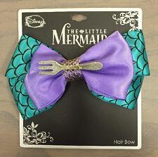 Disney The Little Mermaid Ariel Fork Cosplay Hair Bow Tie Hair Clip NWT!